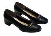 Image of Salvatore Ferragamo Pump Shoes (Black)