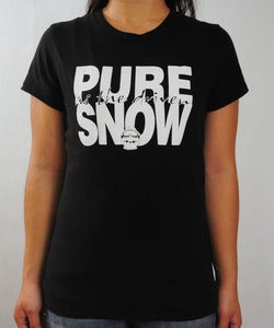Image of Pure Snow - Women's Black Shirt