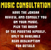 Image of MUSIC CONSULTATION