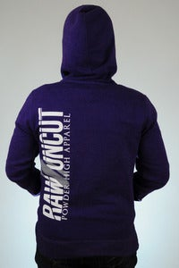 Image of Raw & Uncut - Women's Purple Hoodie