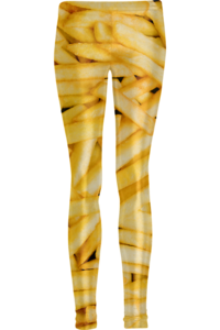 Image of Fries leggings