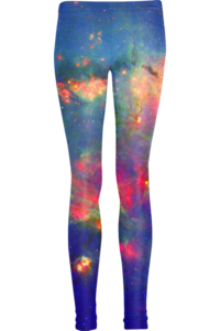 Image of Green nebula leggings
