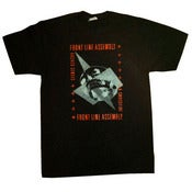 Image of FRONT LINE ASSEMBLY-Gashed Senses &amp; Crossfire Shirt/ NEW Reissued print