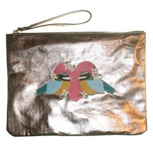 Image of Bluetit Lovin' Clutch Bag
