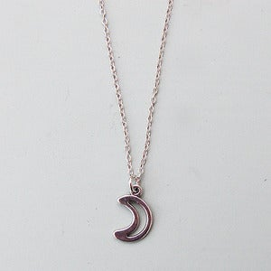 Image of Cut Out Moon Necklace