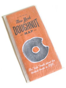 Image of New York Doughnut Map