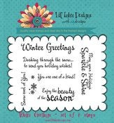 Image of Winter Greetings Stamp Set