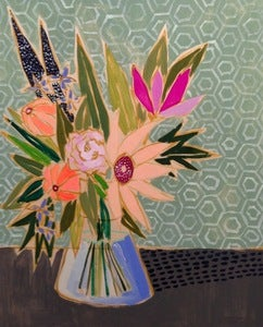 Image of 24x30 Flowers for Doris