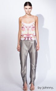 Image of Metal Ski Pant - Silver Smoke
