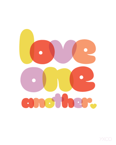 Image of Love One Another - Printable PDF