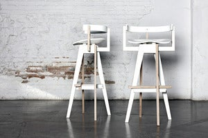 Image of XEMEI STOOL WHITE
