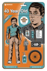 Image of The 40 Year Old Action Figure