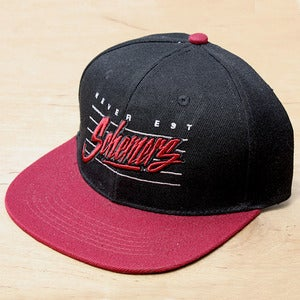 Image of Grand Scheme- Schemers Retro Wine snapback
