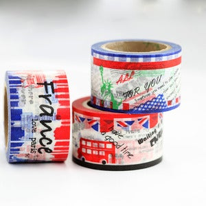 Image of For Love Of Country Washi Tape