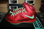 Image of Lebron X (10) &quot;Xmas&quot;