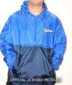 "Image of ""Los Chingones"" Blue n Navy Windbreaker"