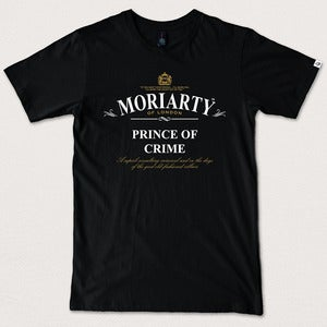 "Image of ""Prince of Crime"" - Black tee/tea"