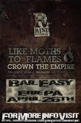 Image of The Rise Records Tour 2013 ERIE PA APRIL 26th