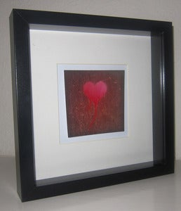 Image of Love is messy (framed)