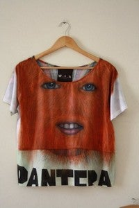 Image of Pantera crop top