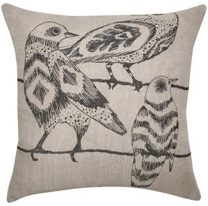 Image of Linen Night Owl Cushion