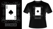 Image of Ace of Spades Rookered t-shirt