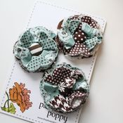 Image of set of 3 posy pins - 809