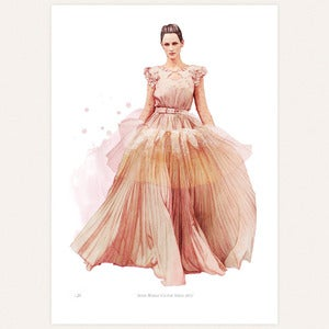 Image of &amp;#x27;Alexis Mabille&amp;#x27; print by lodie