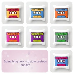 Image of Cushion / Craft Panel - Custom Cassette
