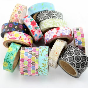 Image of Flower Power Washi Tape