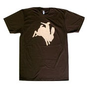 Image of Brown Buckin' Bunny Shirt