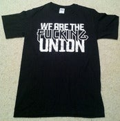 Image of Fucking Union Black T-Shirt