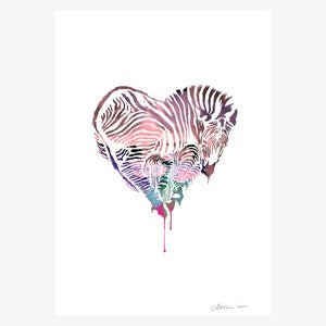 Image of Z, LOVE - ART PRINT