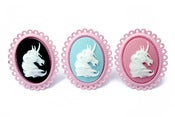 Image of Unicorn Cameo Ring