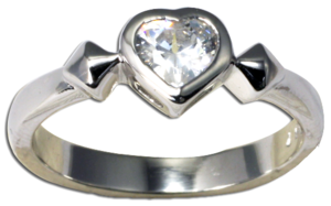 Image of Trapped Heart Ring