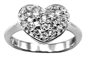 Image of Pillow Heart Ring