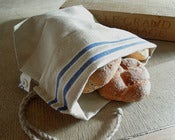 Image of Linen bread bag