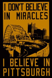 Image of I dont believe in miracles. Womens