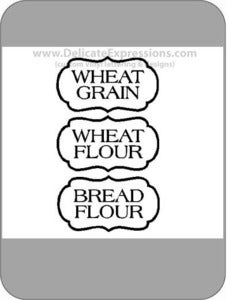Image of Pantry Jar Labels {3 Add-ons}