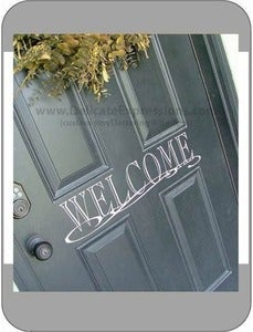 Image of Front Door Welcome - 4 designs