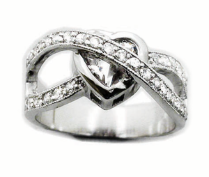 Image of Caged Heart Ring