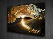 "Image of ""Liquid Gold"" Limited Edition Gallery Wrapped Canvas Print-Robbie Crawford Collaboration"