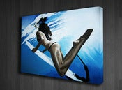 "Image of ""Duck Dive"" Limited Edition Gallery Wrapped Canvas Print"