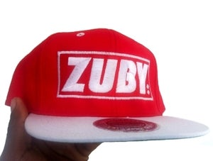 Image of 'ONE OF A KIND' Team Zuby Snapback Cap (January 2013 Edition)