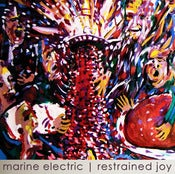 Image of The Marine Electric - Restrained Joy LP Green Swirly Vinyl