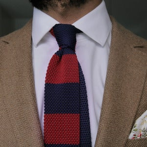 Image of Prep Knit Tie Red