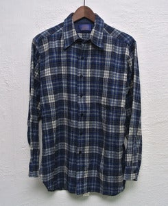 Image of Pendleton wool overshirt (L) #2