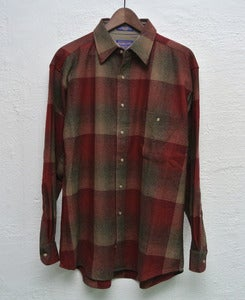 Image of Pendleton wool overshirt - Elbow patches (L)