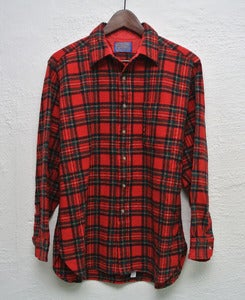 Image of Pendleton wool overshirt (M) # 1