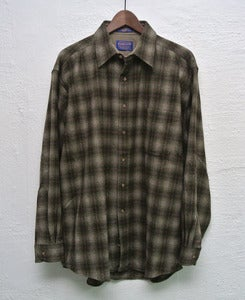 Image of Pendleton wool overshirt (L) #3